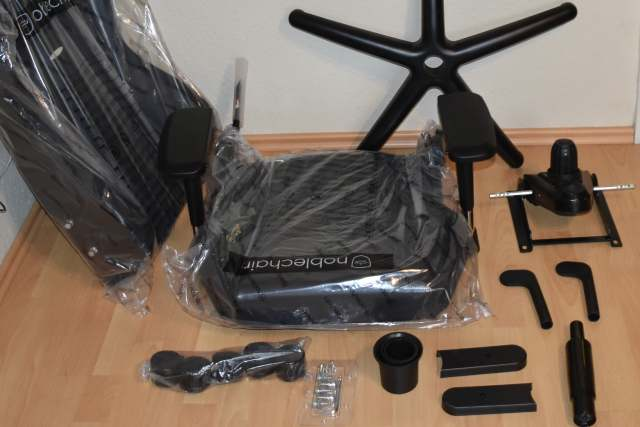 how to assemble a gaming chair