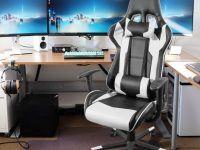 Homall Racing Style Gaming Chair With Lumbar Support And Headrest