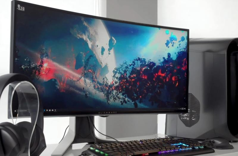 large gaming monitors