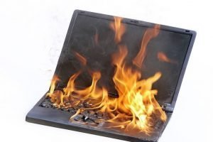 why does my laptop overheat when i play games