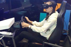 racing simulator seat