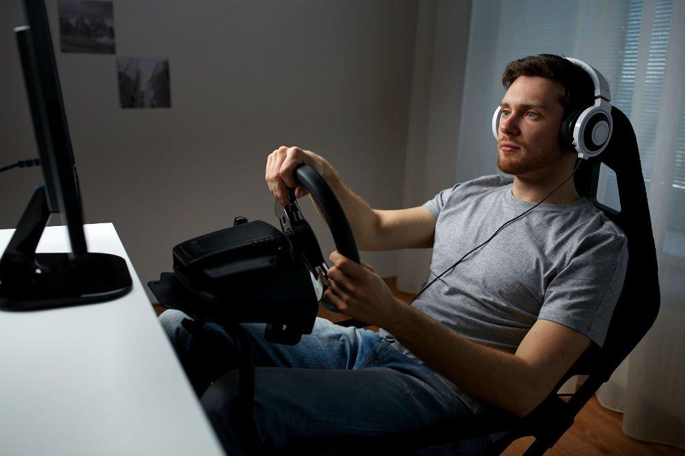 gaming racing wheel